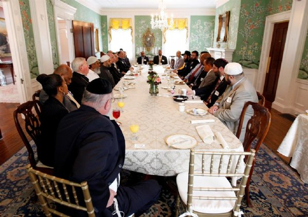 Breakfast religious roundtable at governors mansion for 21 mansion terrace cranford nj