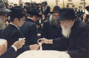 Kos Shel Brocho, The Rebbe